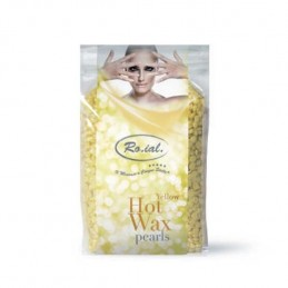 ROIAL HOT WAX PEARLS - ŽUTI...