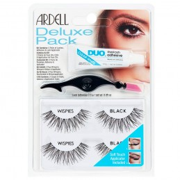 ARDELL DELUX PACK WISPIES BLACK - 68947