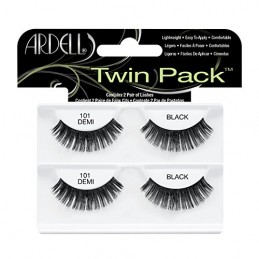 ARDELL TWIN PACK 101 DEMI BLACK - 61771