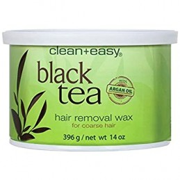 CLEAN+EASY BLACK TEA VOSAK ZA DEPILACIJU