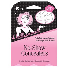 HOLLYWOOD FASHION SECRETS NO-SHOW CONCEALERS-7966