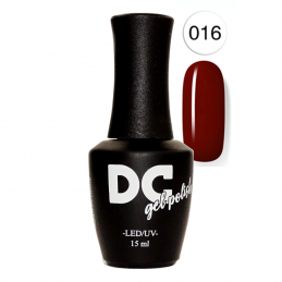 DC LED/UV GEL POLISH - OLD BLOOD  15ml