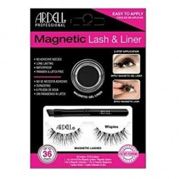 Magnetic Liner & Lash Wispies black