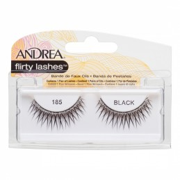Andrea Strip Lashes 185 Black