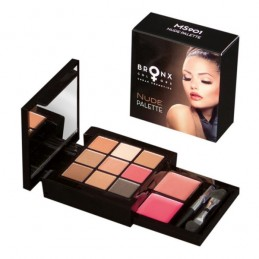 Bronx Nude makeup set