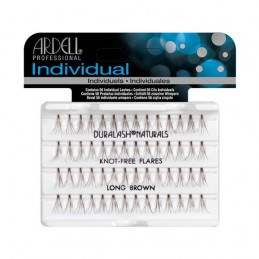 ARDELL KNOT-FREE NATURAL INDIVIDUAL LONG BROWN - 65055