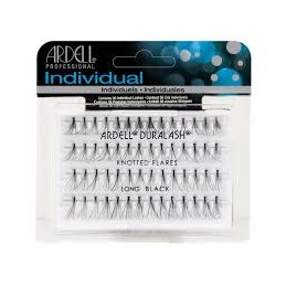 ARDELL KNOTTED FLARED INDIVIDUAL LASHES LONG BLACK - 65099