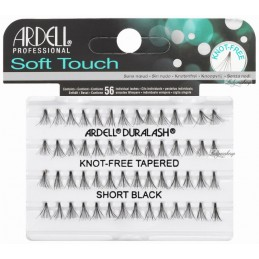 ARDELL SOFT TOUCH-KNOT FREE TAPERED SHORT BLACK - 68283