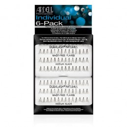 ARDELL 6-PACK INDIVIDUAL MEDIUM BLACK - 60078